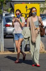 SCOUT and TALLULAH WILLIS Shopping at The Grove in Los Angeles 05/27/2021