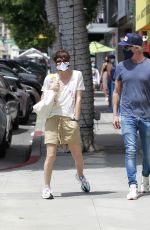 SELMA BLAIR and Ron Carlson Out in Los Angeles 05/02/2021