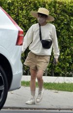 SELMA BLAIR Out and About in West Hollywood 05/15/2021