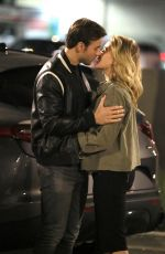 SHANNA MOAKLER and Matthew Rondeau Out Kissing in Los Angeles 05/21/2021