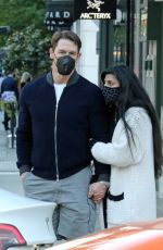 SHAY SHARIATZADEH and John Cena Out in Vancouver 05/08/2021