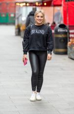 SIAN WELBY at Radio Breakfast Show in London 05/14/2021