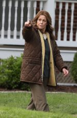 SIGOURNEY WEAVER on the Set of Call June in Hartford 05/17/2021