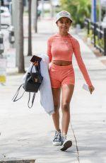 SKAI JACKSON Heading to a Gym in West Hollywood 05/19/2021