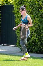 SOFIA BOUTELLA Leaves Pilates Class in West Hollywood 05/14/2021