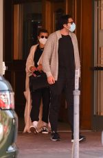 SOFIA RICHIE and Elliot Grainge Out in Los Angeles 05/21/2021
