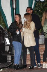 SOFIA RICHIE at San Vicente Bungalows in West Hollywood 05/13/2021