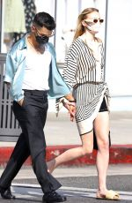 SOPHIE TURNER and Joe Jonas Out in Beverly Hills 05/09/2021
