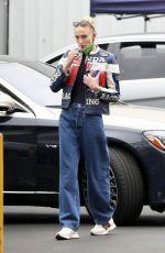 SOPHIE TURNER Arrives at Milk Studios in Los Angeles 05/13/2021