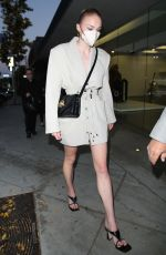 SOPHIE TURNER Night Out in West Hollywood 05/07/2021