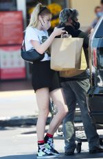 SOPHIE TURNER Out Shopping in Los Angeles 05/02/2021