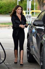 TANYA BARDSLEY at a Gas Station 05/07/2021