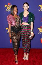 TAYLOUR PAIGE and RILEY KEOUGH at 2021 MTV Movie Awards in Los Angeles 05/16/2021