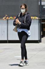 TERI HATCHER at Blue Bottle Coffee in Los Angeles 05/14/2021