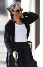 TESSA THOMPSON Out Shopping in Sydney 05/11/2021
