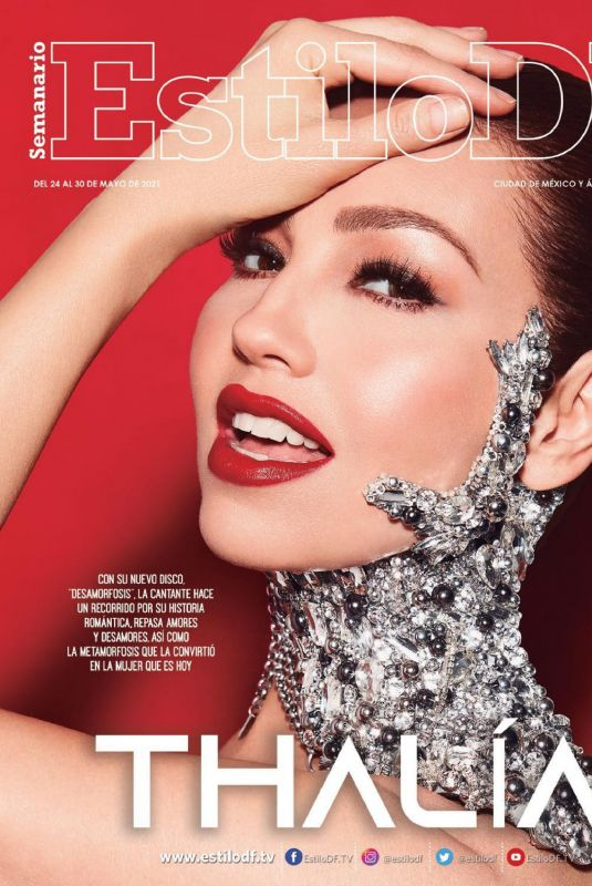 THALIA in Estilo DF Magazine, May 2021