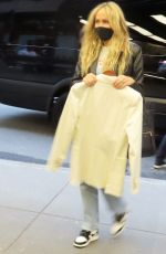TISH CYRUS Arrives at SNL in New York 05/08/2021