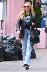 TISH CYRUS in Denim Out in New York 05/07/2021