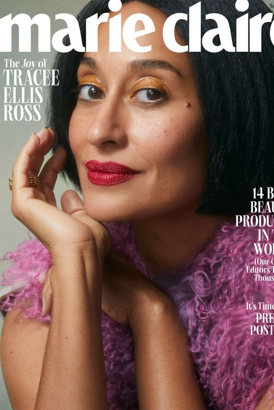 TRACEE ELLIS ROSS in Marie Claire Magazine, Summer 2021