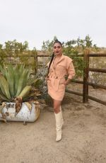 VANESSA HUDGENS at Caliwater Escape at Mojave Moon Ranch in Joshua Tree 05/01/2021