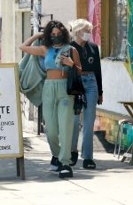 VANESSA HUDGENS Out for Lunch in Los Angeles 05/08/2021