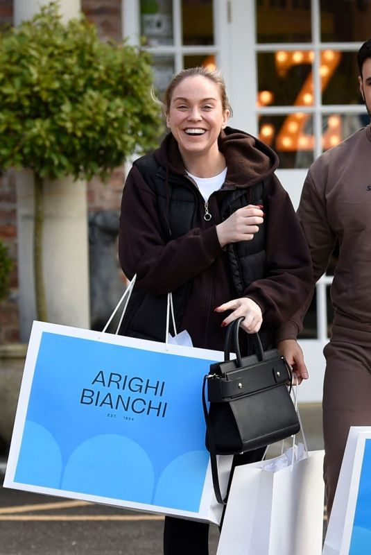 VICKY PATTISON and Ercan Ramadan Out Furniture Shopping at Arighi Bianchi 05/10/2021