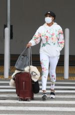 VIVICA A FOX at LAX Airport in Los Angeles 05/10/2021