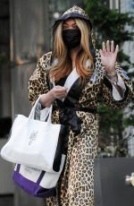 WENDY WILLIAMS Out and About in New York 05/13/2021