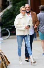 YOLANDA HADID Leaves Her Apartment in New York 05/11/2021