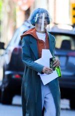 ZOE KRAVITZ on the Set of Kimi in Los Angeles 04/29/2021