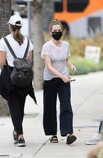 ZOEY DEUTCH Out for an Iced Matcha in Los Angeles 05/10/2021