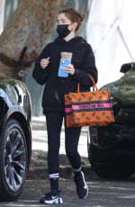 ZOEY DEUTCH Out for Coffee in Los Angeles 05/03/2021