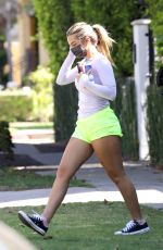 ADDISON RAE Leaves Morning Workout in West Hollywood 06/09/2021