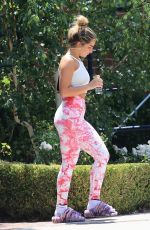 ADDISON RAE Leaves Pilates Class in West Hollywood 06/19/2021