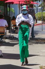 ADUT AKECH Out in West Hollywood 06/11/2021