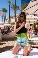 ALESSANDRA AMBROSIO at Elia Beach Club Grand Opening in Las Vegas 06/12/2021