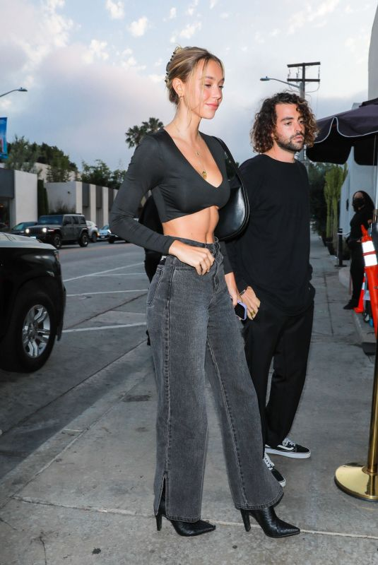 ALEXIS REN at Catch LA in West Hollywood 06/18/2021