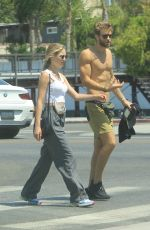 ALI COLLIER Out and About in Hollywood 06/28/2021