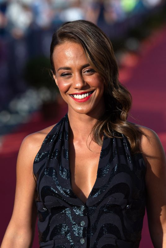 ALICE BELAIDI at 35th Cabourg Film Festival Closing Ceremony 06/12/2021