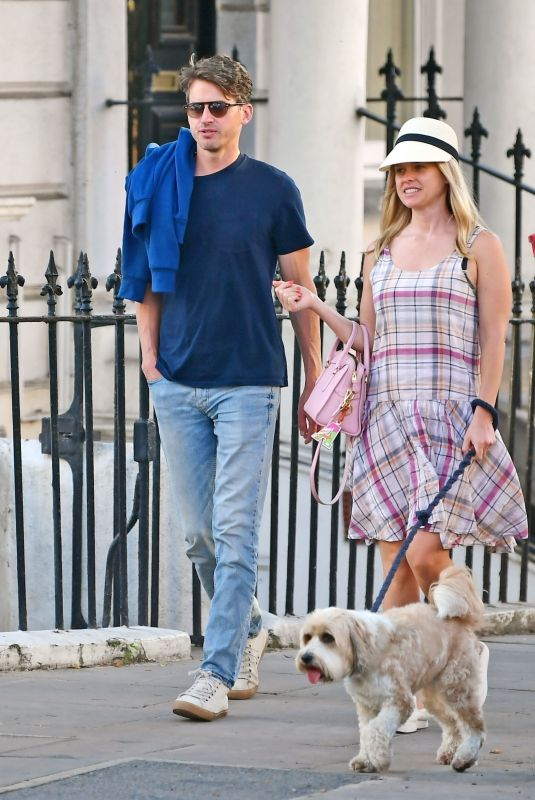 ALICE EVE and Jack Eve Out in Notting Hill 06/20/2021