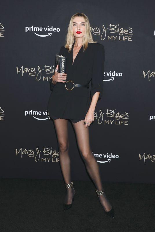 ALINA BAIKOVA at Mary J. Blige's My Life Premiere in New York 06/23/2021