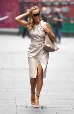 AMANDA HOLDEN Leaves Global Radio in Lndon 06/17/2021