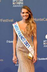 AMANDINE PETIT at 60th Monte Carlo TV Festival Closing Ceremony 06/22/2021