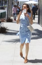 AMBER MARTINEZ Out Shopping on Rodeo Drive in Beverly Hills 06/06/2021