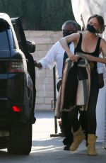 AMBER VALLETTA at Matsuhisa in Beverly Hills 06/04/2021