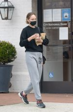 AMBER VALLETTA Out for Coffee in Los Angeles 06/06/2021