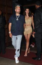 AMELIA HAMLIN Celebrates Her 20th Birthday with Scott Disick Out in Miami 06/13/2021