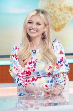 AMY HART at Good Morning Britain TV Show in London 06/25/2021