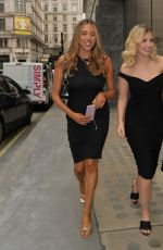 AMY HART Heading to Savoy Hotel in London 06/11/2021