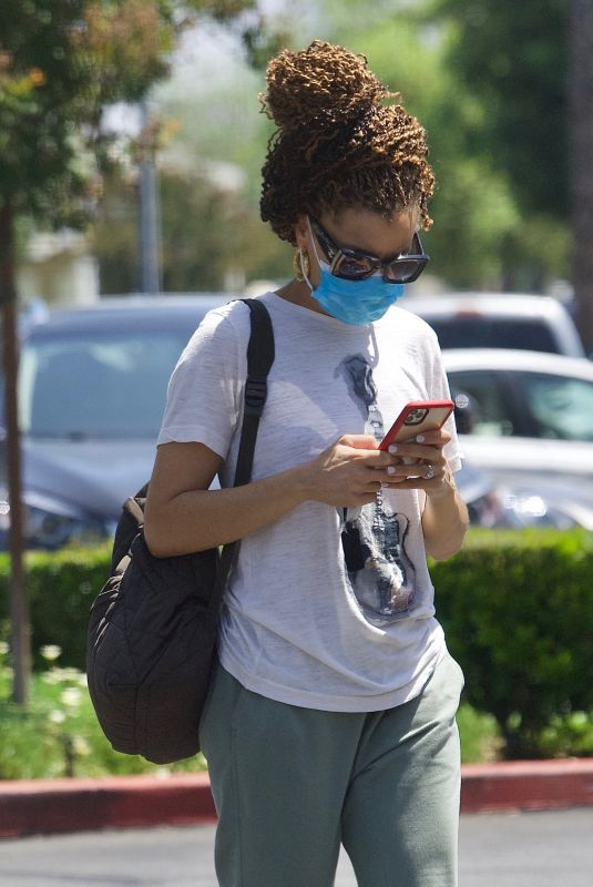 ANDRA DAY Out and About in Los Angeles 05/30/2021